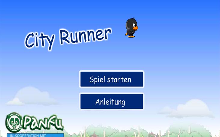 Spiele City Runner / City Jumper kosten- und anmeldefrei auf Panfu.de!