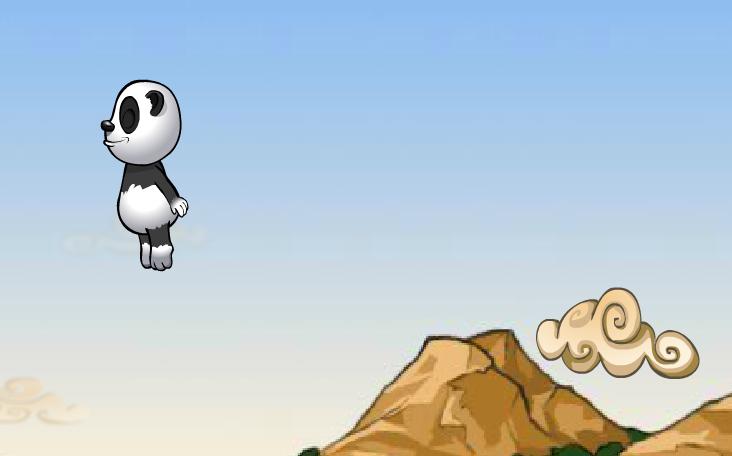 Online auf Panfu.de kostenlos spielen: Cloud Number Nine - Panda Flash Game