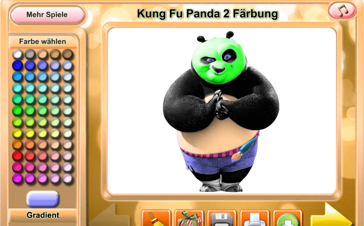Panfu.de präsentiert das kostenlose Game Kung Fu Panda 2 online.