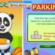Gratis Spielspaß: Panda Parking - ein Parkspiel bzw. Einparkspiel.